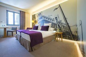 hotel en el centro de madrid con spa