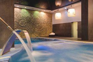Balneario en Madrid en un hotel de lujo